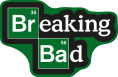 Homeware--Breaking Bad - Logo 85 x 55cm Rug