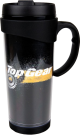 PRODUCT TYPES--Top Gear - Black and Yellow Gears Travel Mug
