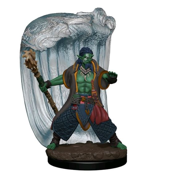 Miniatures Games--Dungeons & Dragons - Icons of the Realms Water Genasi Druid Male Premium Figure