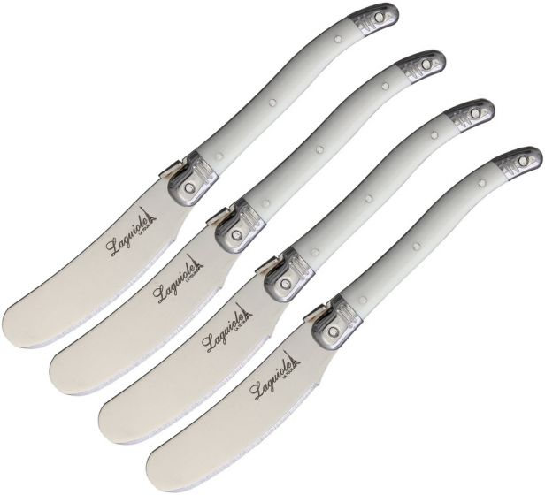 Laguiole LA TOUR--Butter Knife White