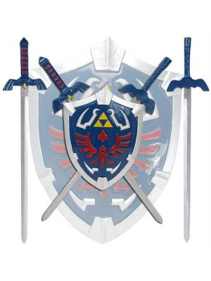 Zelda Hylian Shield & Swords Wall Display Set