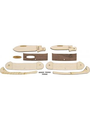 Case Cutlery--Wooden Knife Kit Canoe