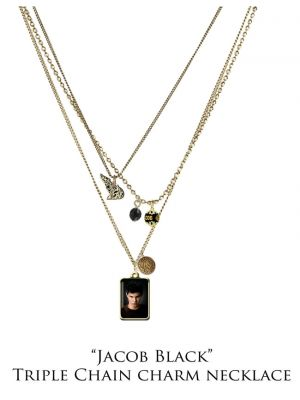 NECA--The Twilight Saga: New Moon - Jewellery Charm Necklace Trip Chn Jacob