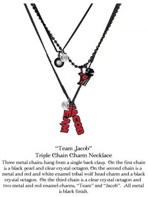 NECA--The Twilight Saga: Eclipse - Jewellery Necklace Triple Charm TJ