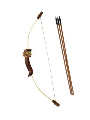 INDIAN CHIEF BAMBOO YOUTH RECURVE BOW