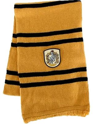 Cosplay--Harry Potter - Hufflepuff House Scarf