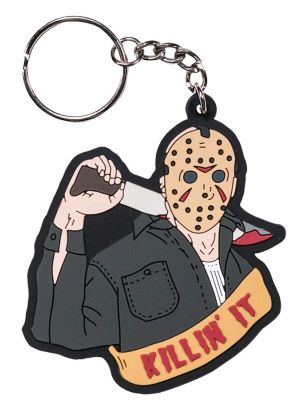 Keychains--Friday the 13th - Jason Voorhees PVC Keychain