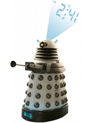 Time Pieces--Doctor Who - Dalek Projection Alarm Clock