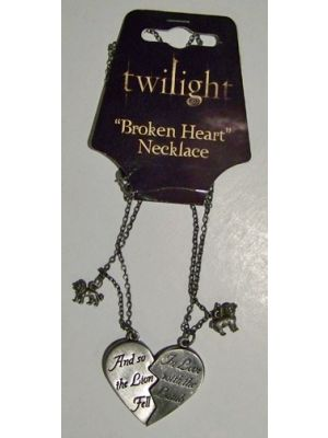 Jewellery--Twilight - Jewellery Broken Heart Necklace