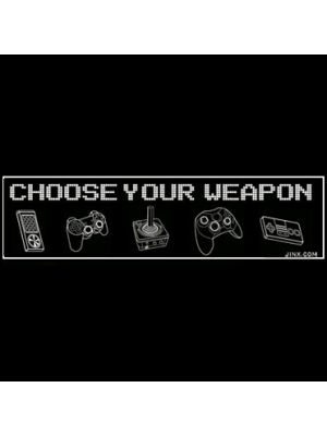 PRODUCT TYPES--J!nx - Controller Weapons Sticker