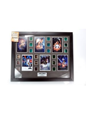 STAR WARS 18 MOVIE CELL OFFICIALLY LICENSED DISPLAY