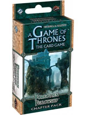 Fantasy Flight Games--Game of Thrones - LCG Forgotten Fellowship Chapter Pack Expansion