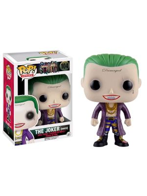 Funko--Suicide Squad - Joker Boxer US Exclusive Pop! Vinyl Figure