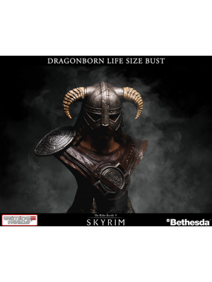 Life-Size Busts--Skyrim - Dragonborn 1:1 Scale Bust