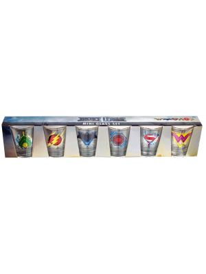 Kitchenware--Justice League Movie - Full Team Shot Glass Set of 6