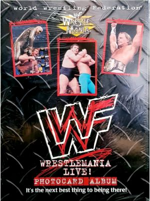 Other Trading Card Games--WWF - Wrestlemania Live! Photocard Album