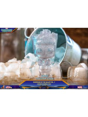 Premium Vinyl Collectables--Guardians of the Galaxy: Vol. 2 - Groot Transparent Cosbaby