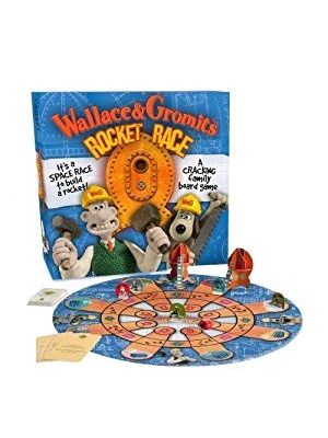 Board Games--Wallace and Gromit - Rocket Race Board Game