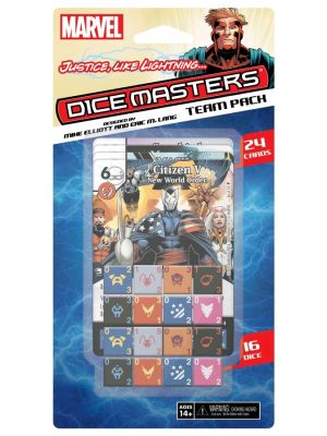 Dice Games--Dice Masters - Justice Like Lightning Team Pack