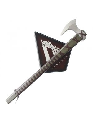 Metal Vikings Ragnar Axe with Plaque