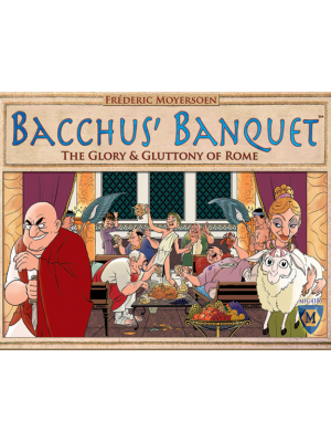 Card Games--Bacchus' Banquet The Glory & Gluttony of Rome - Card Game