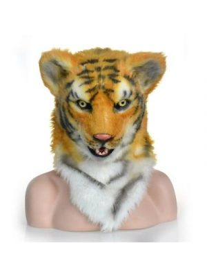 Moving Mouth Yellow Tiger Mask