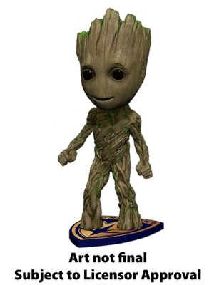 Bobble Statues--Guardians of the Galaxy: Vol. 2 - Groot Head Knocker