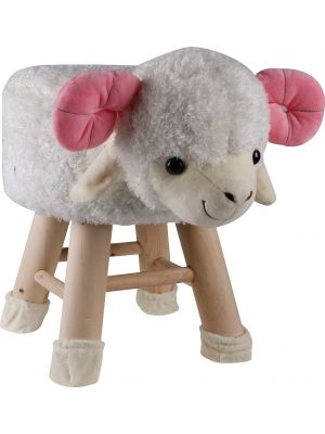 Kids Lamb Face Stool