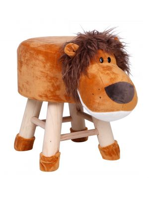 Kids Lion Face Stool