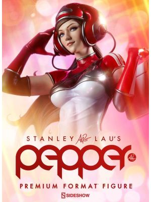 Sideshow Collectibles--Pepper - Pepper Premium Format 1:4 Scale Statue