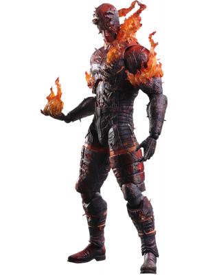 Metal Gear Solid V - Man on Fire Play Arts Figure