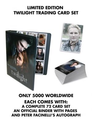 NECA--Twilight - Trading Card Factory Set With Autograph
