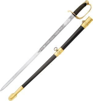 India Made--Confederate Officers Sword