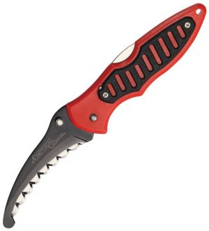 Imperial Schrade--Rescue Lockback Red/Black