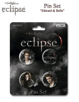 Pins & Badges--The Twilight Saga: Eclipse - Pin Set Of 4 Edward & Bella