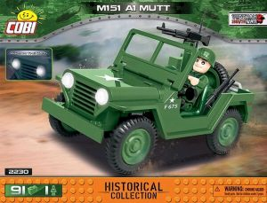 Construction Sets--Vietnam War - M151 A1 Mutt (75 pieces)
