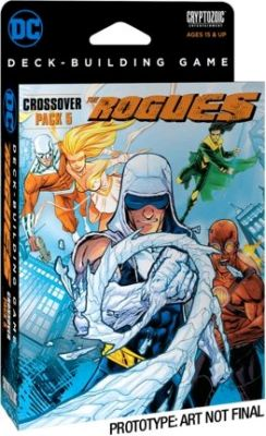 Card Games--DC Comics - Deck-Building Game Crossover Pack 5: The Rogues