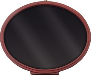 Displays--Oval Display With Insert