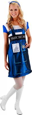 Other Apparel--Doctor Who - TARDIS Costume Dress L/XL