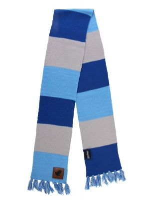 Cosplay--Harry Potter - Ravenclaw Patch Striped Scarf