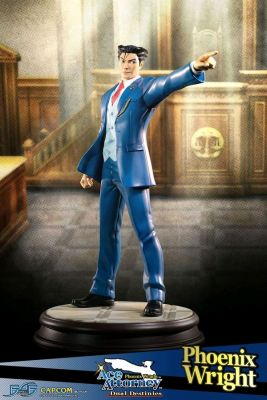 Other Statues--Ace Attorney - Phoenix Wright Statue