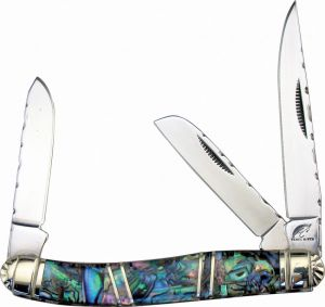 Frost Cutlery--Mini Stockman Abalone