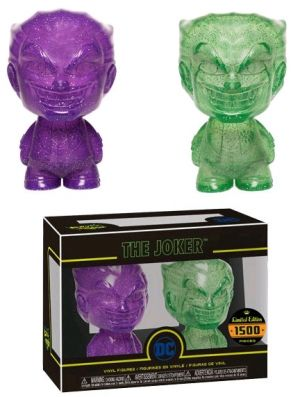 Premium & Designer Vinyl--Batman - Joker (Purple & Green) XS Hikari 2-pack