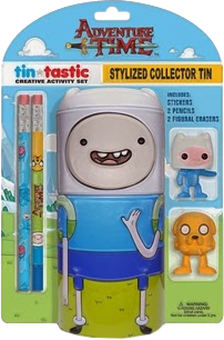 Office & Stationery--Adventure Time - Finn Tin-Tastic Activity Set