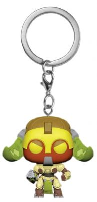 Keychains--Overwatch - Orisa Pocket Pop! Keychain