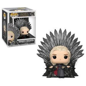 Deluxe Pop! Vinyl--Game of Thrones - Daenerys on Iron Throne Pop! Deluxe