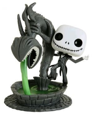 Deluxe Pop! Vinyl--The Nightmare Before Christmas - Jack in Fountain Movie Moment Pop! Vinyl [RS]