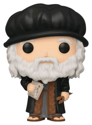 Pop! Vinyl--Artists - Leonardo DaVinci Pop! Vinyl
