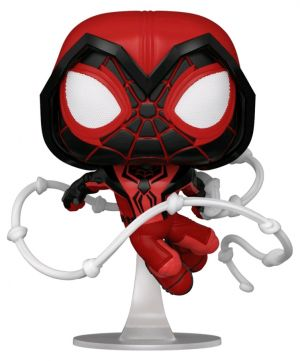 Pop! Vinyl--Marvel's Spider-Man: Miles Morales - Crimson Cowl Suit Pop! Vinyl