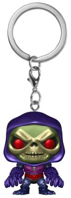 Funko--Masters of the Universe - Skeletor w/Terror Claws Metallic US Exclusive Pocket Pop! Keychain[RS]